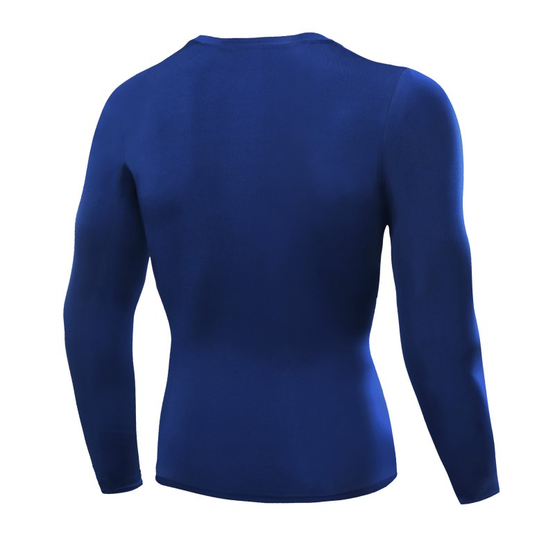 thumbnail 6 - Men Compression Shirt Thermal Base-Layer Fast Dry Sports Athletic Workout Tops